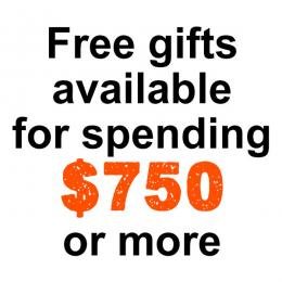 $750 Free Gift Tier