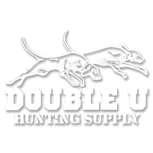 Double U Dogs Logo Brown Mesh Back Hat