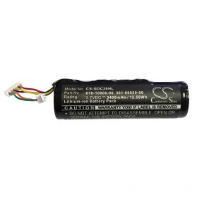 Aftermarket Replacement Battery for Garmin DC30 and DC40