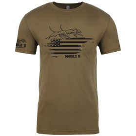 Military Green Double U Glory T-shirt