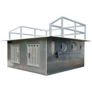 Alder Grove Aluminum Dog Box