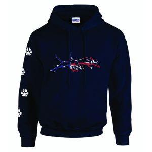 Double U Patriot Navy Sweatshirt