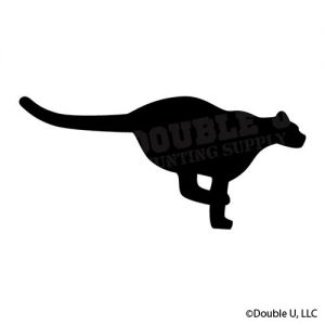 Cougar Running Decal