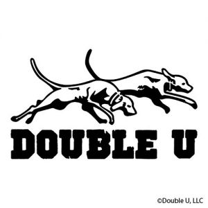 Double U Hunting Supply Dogs Decal