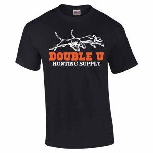 Double U Hunting Supply Black  Pro Staff T-Shirt