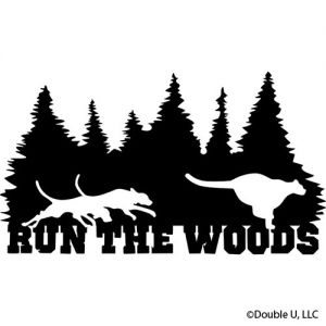 """Run The Woods"" Cougar Decal"