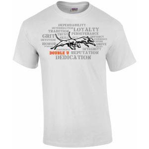 DU Dedication White T-Shirt