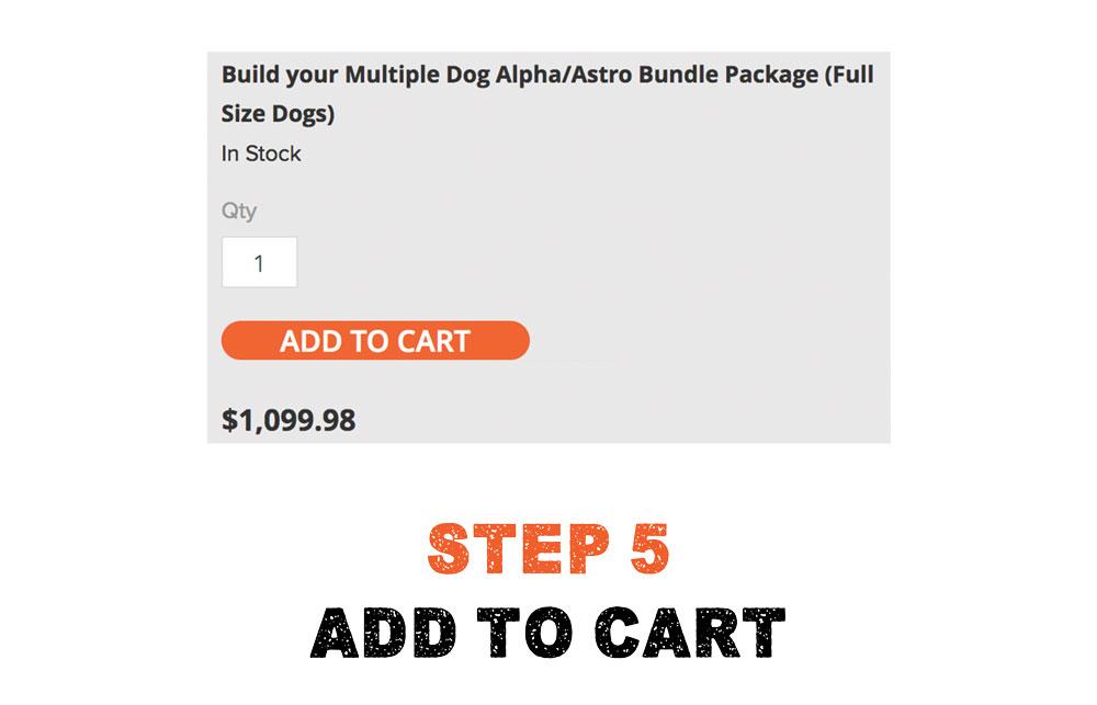 Multiple Dog Bundle Step 5